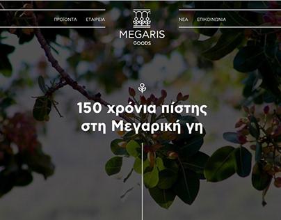 Megaris Goods Branding & Website