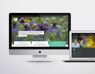 Website Redesign - Further Learning Group