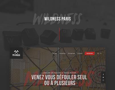Wildness — Website, WebApp, Flyers