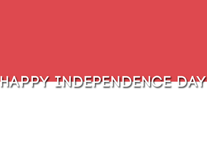 Happy Independence Day, Indonesia.