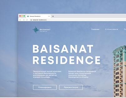 Baisanat Residence Website