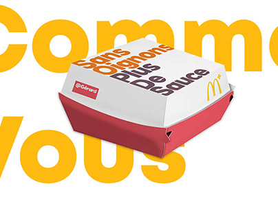 McDonald's | concept, print, packaging