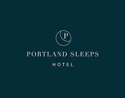 Portland Sleeps Hotel: Brand idenity