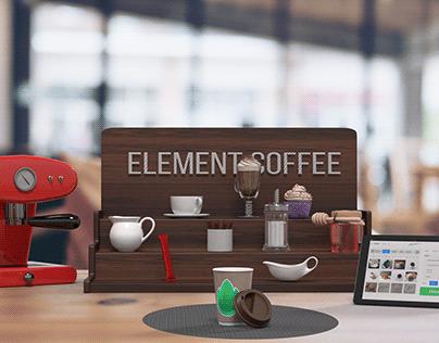 AR Coffee Shop