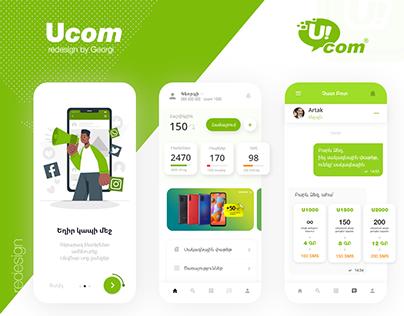 Mobile Operator Cellular app design