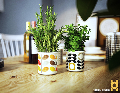 Kitchen - Hodidu Studio