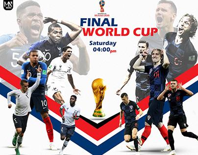 World Cup Final (France vs. Croatia)