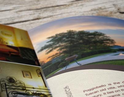 Brochure for Poggiobello Holiday House
