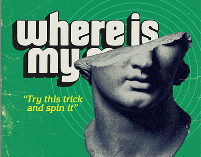 Pixies - Where Is My Mind - Paperback style design