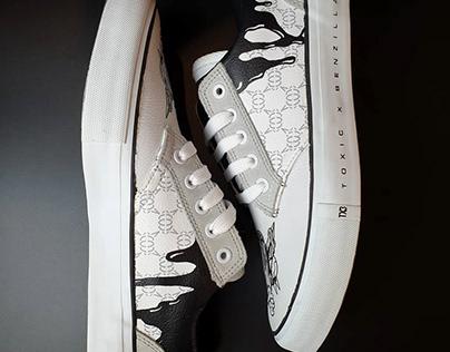 TOXIC x BENZILLA Sneakers Design