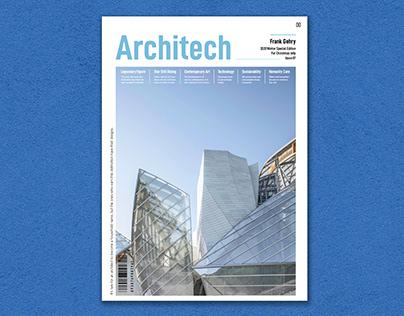 Magazine Design-Frank Gehry