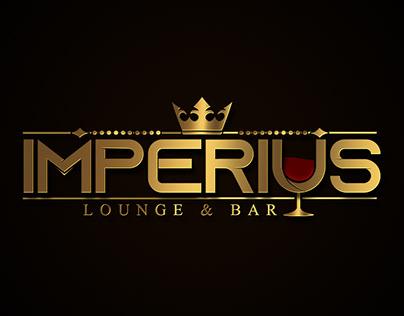 Logotipo Imperius Lounge e Bar
