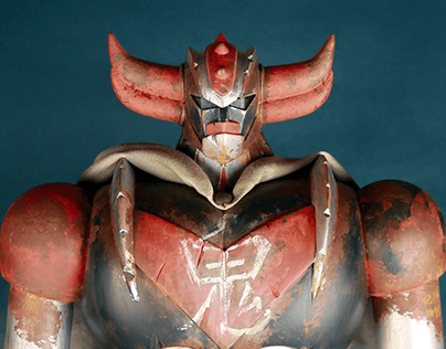 Grendizer custom (figure from HL Pro)