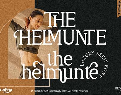THE HELMUNTE - Luxury Serif Font