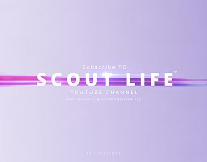 Youtube Channel Art & Facebook Cover | Scout Forever