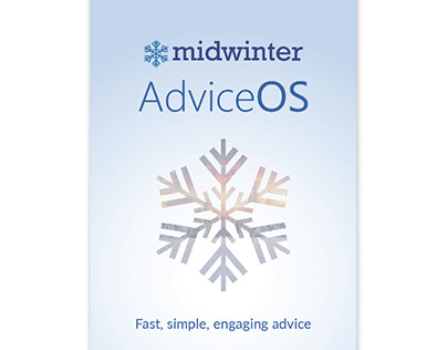 Physical Banner Design - Midwinter AdviceOS