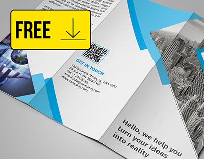 FREE Tri Fold Brochure Template DOWNLOAD On Behance - Free tri fold brochure templates