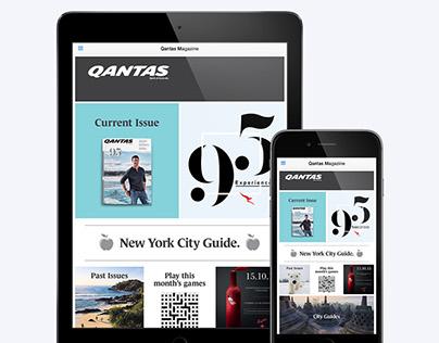 Qantas Magazine App