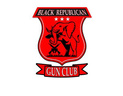 Black Republican Gun Club Logo