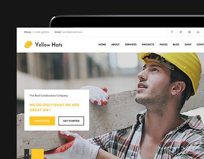 Yellow Hats - Construction, Building & Renovation Theme