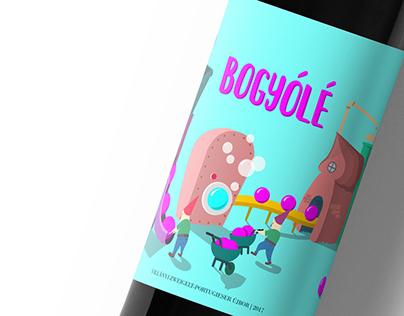 Wine label - Bogyólé