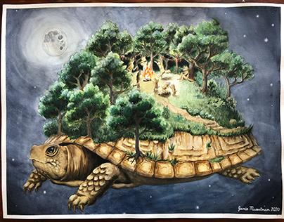 Spaceship Earth Illustration Series