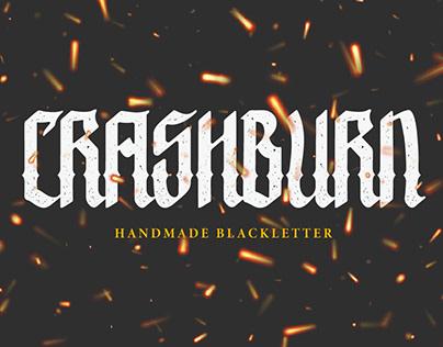 FREEBIES | CRASHBURN BLACKLETTER FONT