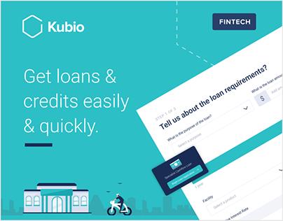 Kubio - Fintech web app