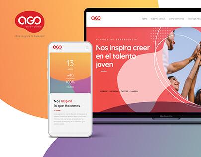 Diseño Web AGO Publicidad