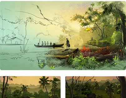Developing Landscape Frames