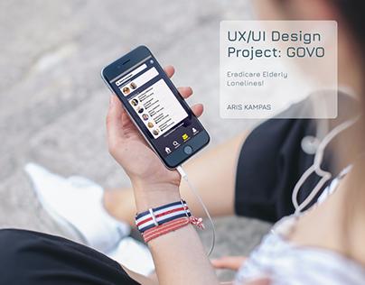 UX/UI Design Project: GoVo