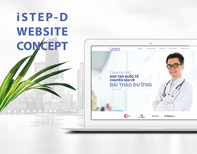 iSTEP-D Website Concept