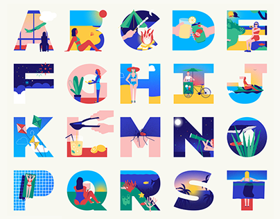 36 days of type — Animated letters