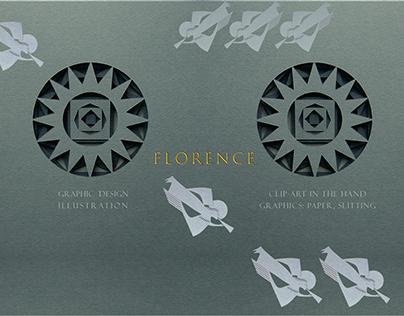Clip-art «Florence»/paper splitting