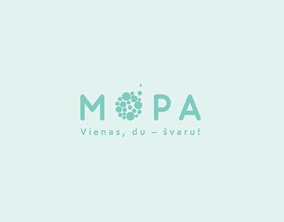 MOPA. Logo design