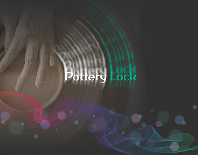 Landing page for Pottery Lock
