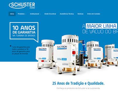 Website Schuster Equipamentos Odontológicos