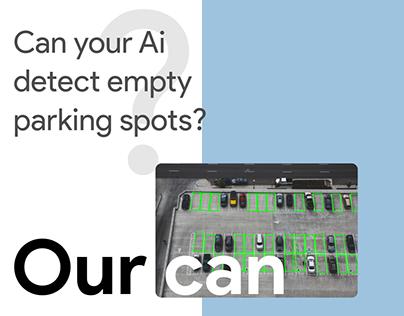Can your AI detect empty parking spots?