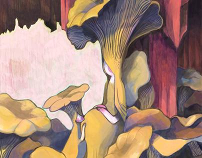 The art of mushrooms