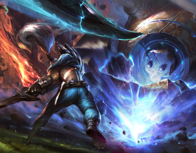 Fan art for League of Legends