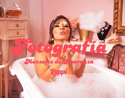 Fotografía - Mensajes de Esperanza Rappi