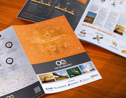 Technology Brochure & Business Card Design