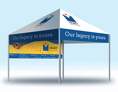 Canopy for Trade Show for Legacy Health