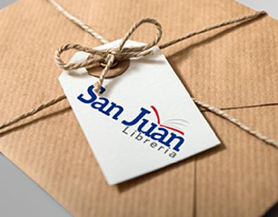 San Juan Libreria Brand Identity Design