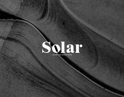Solar Coffee Brand Identity