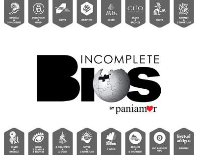 Incomplete Bios / Bios Incompletas