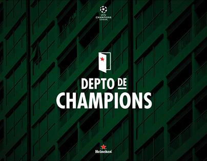 HEINEKEN Depto de Champions
