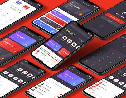 Alfa-Bank Redesign Concept