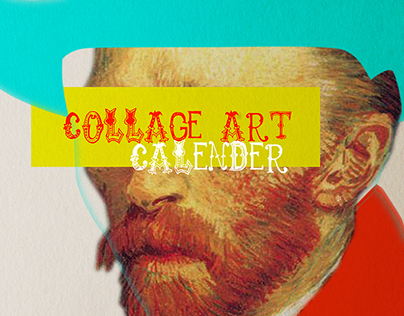 Collage Art Calendar 2018