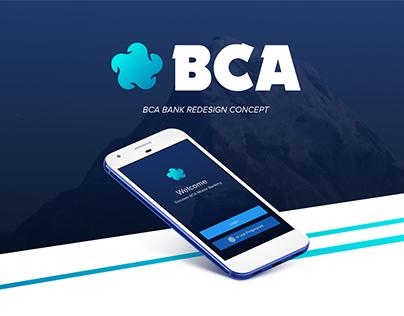 BCA Bank Redesign Concept